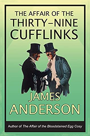 book cover of The Affair of the 39 Cufflinks