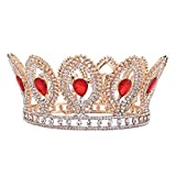 Girls Crown, Beautiful headdress/Round Crown Bridal Crown Wedding Gown Performance Wedding Dress Head Ornament.