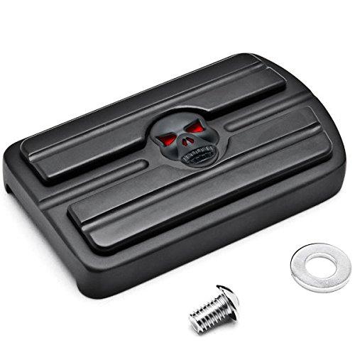 - Krator Black Brake Pedal Pad Cover Black NonSlip Rubber For Harley Davidson Electra Glides 1980-2015