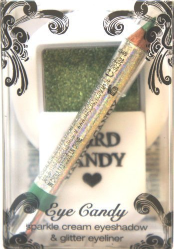 Eyeliner Sage - HARD CANDY Eye Candy Sparkle Cream Eye Shadow & Glitter Eye Liner AMMO (SAGE GREEN COLOR)