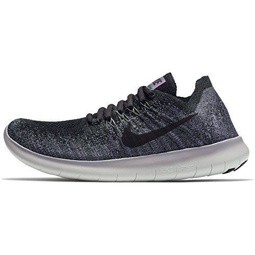 cheap for discount a6421 88015 Galleon - NIKE Women s Free RN Flyknit Running Shoe (9 B(M) US, Vintage  Green Black)
