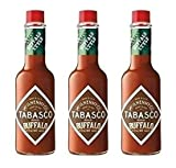 New McIlhenny's Tabasco Brand Buffalo Style Hot Sauce 5 oz (Pack of 3)