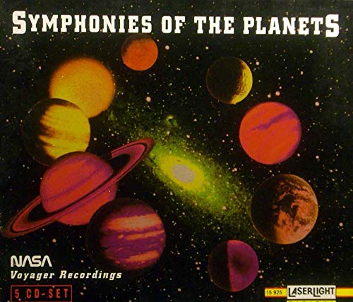 Symphonies Of The Planets 1-5 NASA Voyager Recordings (Symphonies Of The Planets)