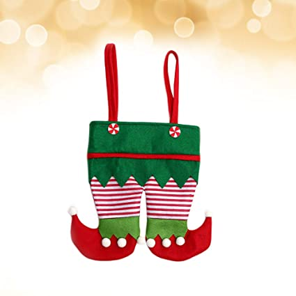 Amosfun Una bolsa de caramelos de Navidad,dibujos animados ...