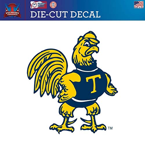 (Victory Tailgate Trinity College Bantams Die-Cut Vinyl Decal Logo 2 (Approx 6x6) )