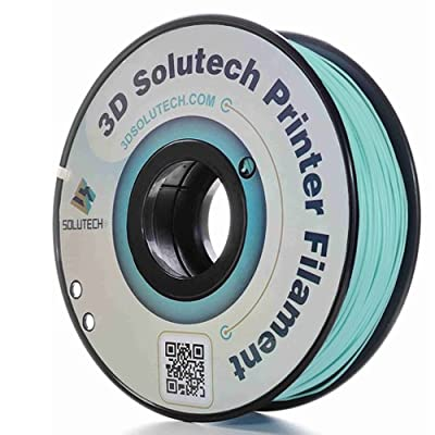 3D Solutech Mint 3D Printer PLA Filament 1.75MM Filament, Dimensional Accuracy +/- 0.03 mm, 2.2 LBS (1.0KG)