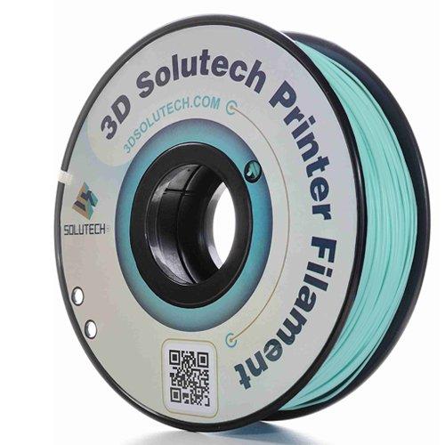 3D Solutech Mint 3D Printer PLA Filament 1.75MM Filament 1.0KG 3DSPLA175MNT Dimensional Accuracy +//- 0.03 mm 2.2 LBS