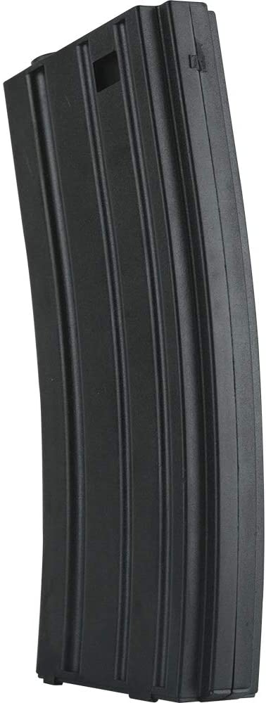 Valken Airsoft M4 Mid-CAP Thermold Magazine, 140rd(5 Pack)-Black