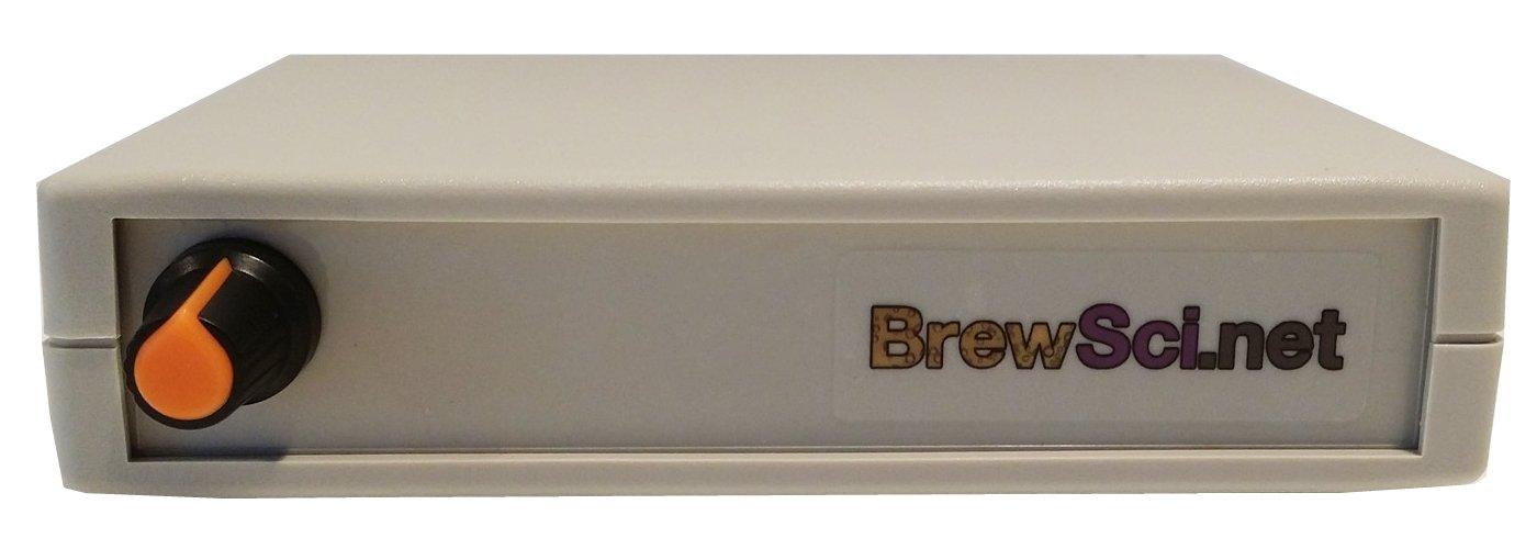 Magnetic stir plate Bas02, stirrer for home brew yeast starter + 2 stir bars BrewSci