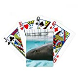 Marine Organism Shark Ocean Animal Poker Playing Card Tabletop Board Game Gift