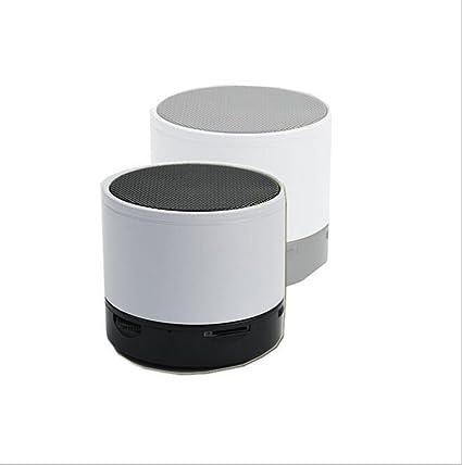 Cajas acústicas Altavoz Bluetooth Mini portátil inalámbrico Bluetooth Speaker Mobile Slot para iPhone, iPad,