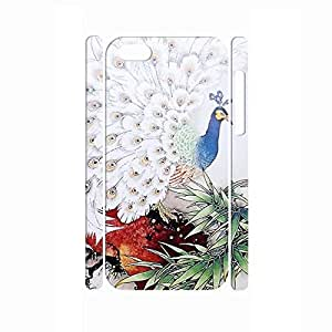 Cool Vintage Peacock Utilty Glitter Chinese Style Phone Cover for Iphone 5c Case by icecream design