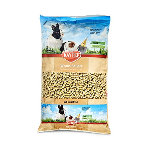 Rabbit Litter (Kaytee Wood Pellets for Pets, 8 Pound)