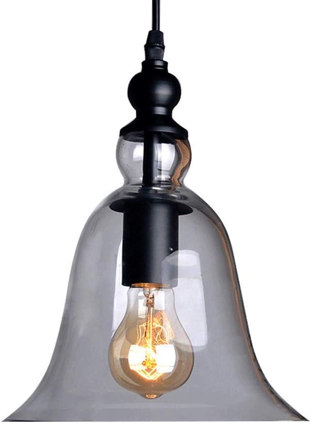 Decorative Plug-in Pendant Lighting Hanging Light Fixture for Resturant Bar Kitchen Dining Hall Loft 1-Light Ceiling Light Fixture NWLAMP Industrial Vintage Glass Pendant Light