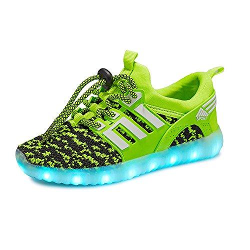 十年ストッキングメトリック発光シューズ スニーカー 男女通用 USB充電スニーカー ハイカット 光る靴 スポーツシューズ LEDシューズ 光るシューズ LED靴 レディース メンズ   ダンス