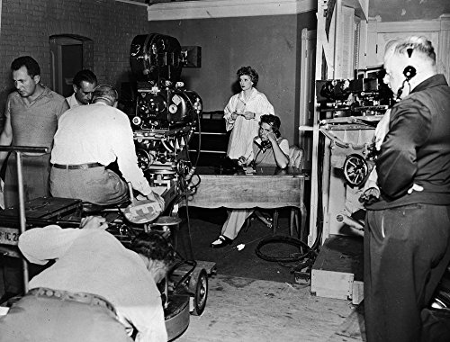 Historical Photo Collection 8 x 10 Photo I Love Lucy Behind The Scene On High Qquality Fiji Film Paper