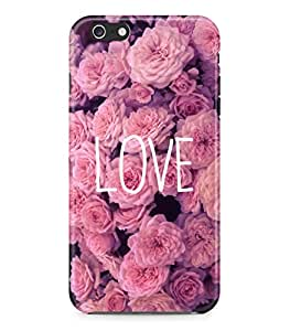 Love Quote Roses Floral Tumblr Retro Rad Indie Boho Hard Plastic Snap On Back Case Cover For Iphone 6 Carcasa