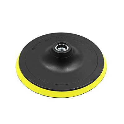 X AUTOHAUX 6 Inch Car Automotive M14 Pad Backing Plate Hook Loop Polisher Buffing: Automotive