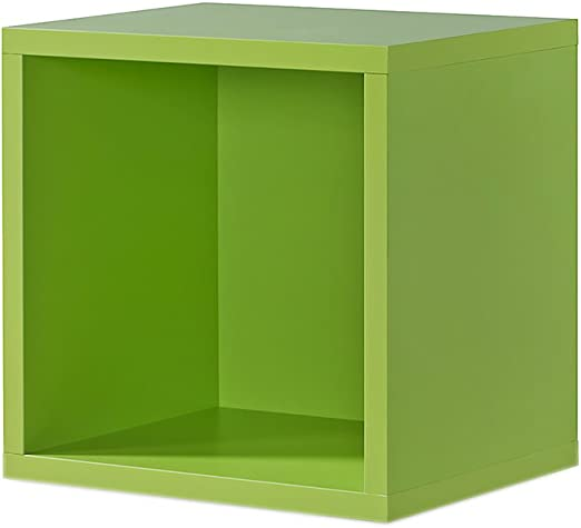Regal weiß, Regalwürfel, 4er Cube Weiss, Click System: Keine