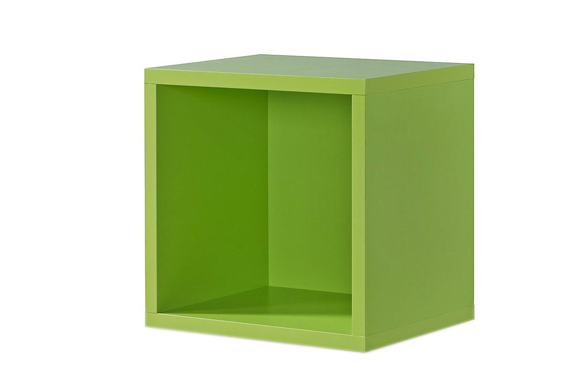 Regal grün, Regalwürfel, Cube grün, Click System  Keine Schrauben und Dübel