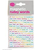 Magnetic Rude Peal Off Words