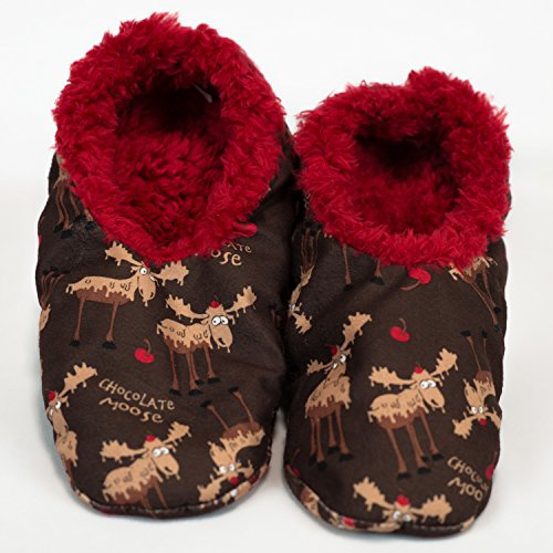 e07fa49e754f LazyOne Women s Fuzzy Feet Slipper Socks (L XL
