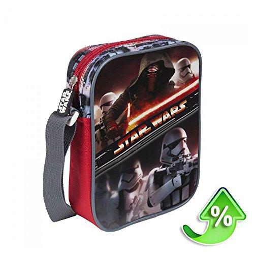 Star Wars 2100-1287 Borsa, Tracolla, Bambini, 21 Centimetri, Poliestere, Multicolore