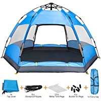 Amagoing Camping Tent, 4 Person Instant Pop Up Family...