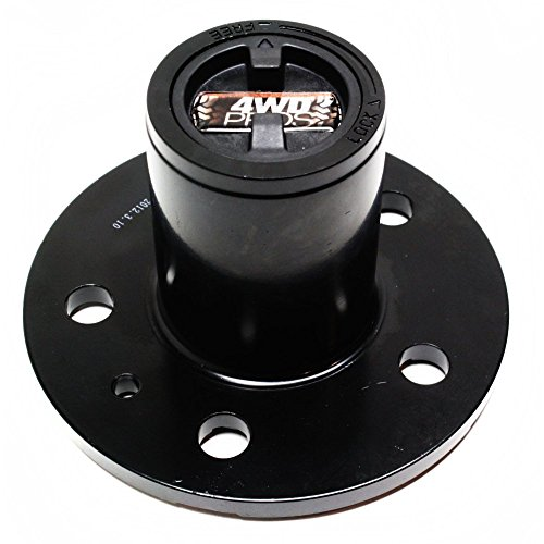 Ford Ranger Locking Hub (Locking Hub for Ford Ranger 83-89 Manual Chrome Set of 2 4.5 Bolt Circle 5-Bolt 23 Splines 1.016 in. A)