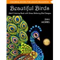 Coloring Book For Adults Beautiful Birds Adult Coloring Book With Stress Relieving Bird Designs And Patterns For Relaxation Volume 1 Of Nature Coloring Books Series By Dan Morris
