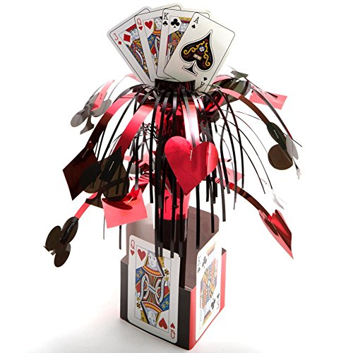 Card Night Centerpiece (Las Vegas Table Centerpieces)