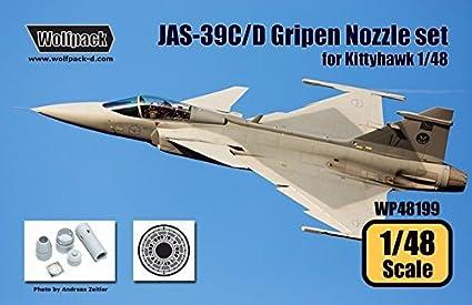 Amazon com: Wolfpack 1:48 JAS-39 C/D Gripen RM12 Engine
