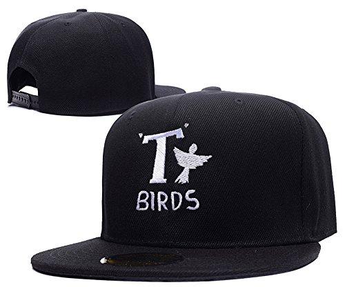 Jeffrey Grease T Birds Logo Adjustable Snapback Hats (John Travolta Grease Costumes)