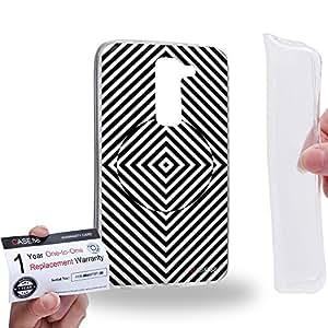 Case88 [LG G2 mini] Gel TPU Carcasa/Funda & Tarjeta de garantía - Art Fashion Visual Art Effect 33 Art1049