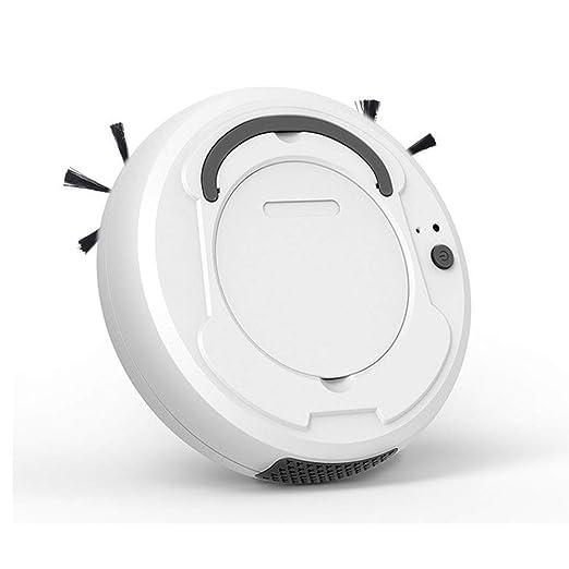 Robot Aspiradora, 1800PA Robotic Vacuum Cleaner, 360deg;Bajo Ruido ...