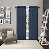 Cheap Pairs to Go 15615056X084IND Teller 56-Inch by 84-Inch Window Curtain Pair, Indigo