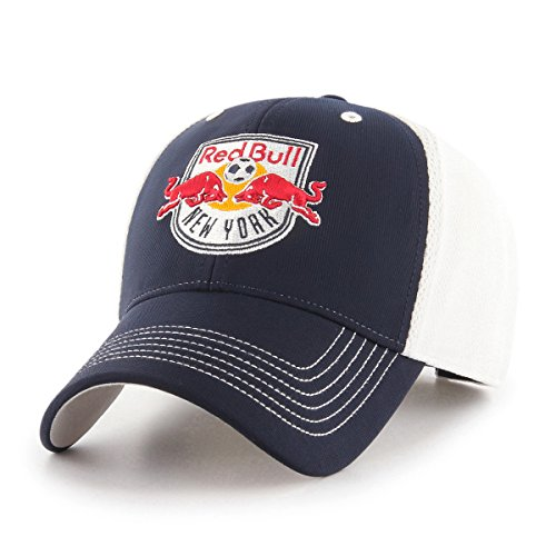 MLS New York Red Bulls Sling OTS All-Star Adjustable Hat, Navy, One Size