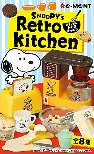 Re-Ment Peanuts Snoopy's Retro Kitchen Full Set of for sale  Delivered anywhere in USA