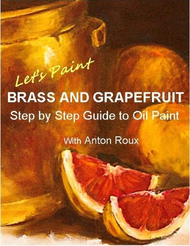 Paint Brass Grapefruit Guide painting ebook product image