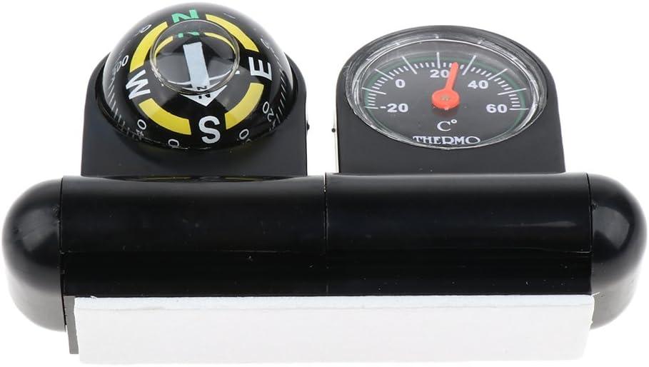 - Compas De Navigation pour Voiture Voiture, Tableau De Bord pour Mini Ball 2 en 1 Adh/ésif Universel pour Bateau Almencla Compas Marin avec Thermom/ètre