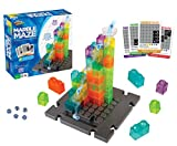 Marble Genius Marble Maze - 50 Building Pieces + 60 Challenge Cards + Free App