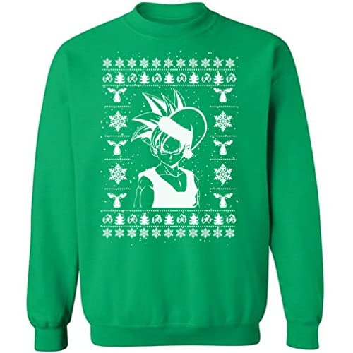 Anime Christmas Sweater.Raxo Anime Christmas Sweatshirt Manga Ugly Christmas Sweater