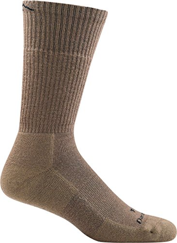 Darn Tough Tactical Boot Cushion Socks ( T4021 ) Unisex (Coyote Brown, Medium)