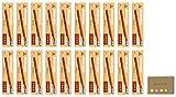 Uni Mitsubishi 9850 Pencil with Eraser, HB, 20-pack/total 240 pcs, Sticky Notes Value Set