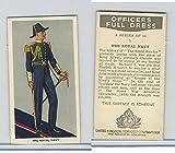 U10-3 U.K. Tobacco, Officers Full Dress, 1936, #1 Royal Navy