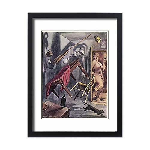 Framed 24X18 Print Of Paranormal/poltergeists (576283) by Prints Prints Prints