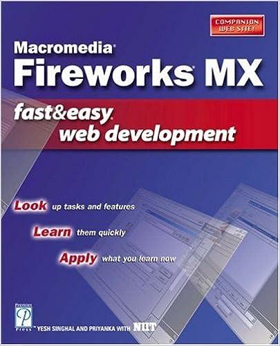 Macromedia Fireworks Mx Fast /& Easy Web Development