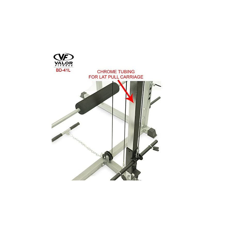 Valor Fitness BD 41L LAT Pull for Heavy Duty BD 41 Power Cage