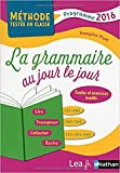 La Grammaire au jour le jour - Contenus année 2