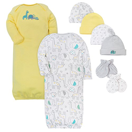 Layette Infant (Gerber Baby Layette Bundle, Little Zoo, 0-6 Months)